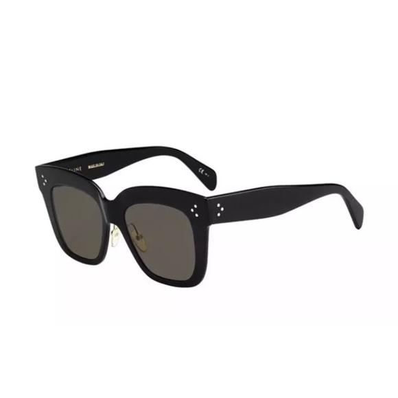 1a451a60c6cf Celine Women CL 41444 S 06Z 2M Black Sunglasses.  M 5b09c2ee5512fd3f5d97fd93. Other Accessories ...